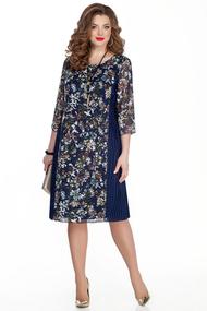 Платье TEZA 324 синий