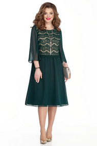 Платье TEZA 327 зеленый