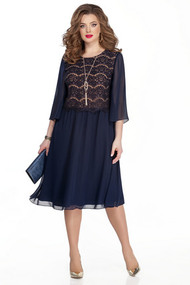 Платье TEZA 327 синий