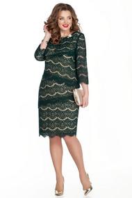 Платье TEZA 329 зеленый