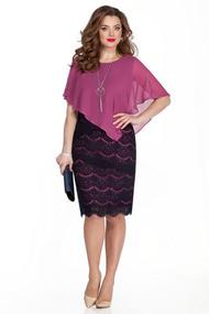 Платье TEZA 331 розовые тона