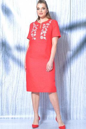 Платье MALI 419-019 красный фото