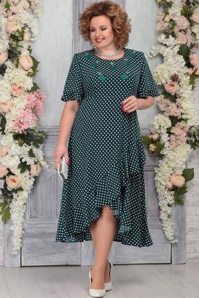 Платье Ninele 7278 изумруд фото