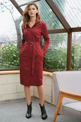 Платье Фантазия Мод 3513 красные тона фото