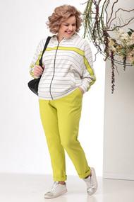 Спортивный костюм Michel Chic 1157 желтые тона
