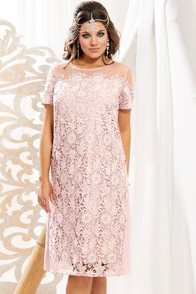 Платье Vittoria Queen 10793 пудровый