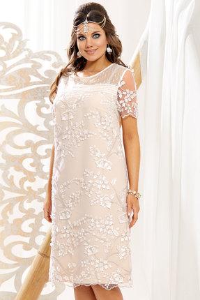 Платье Vittoria Queen 10853 бежево-молочные тона фото