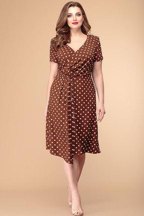 Платье Romanovich style 1-1968 коричневый