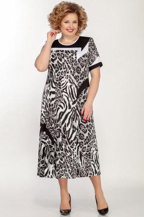 Платье Медея и К 2035 серый
