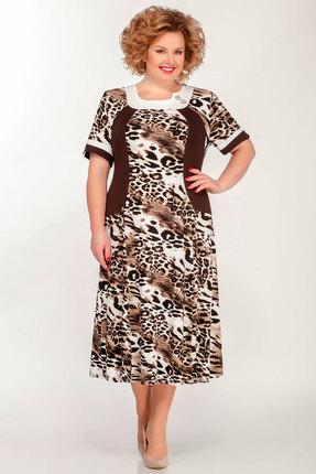 Платье Медея и К 2036 коричневые тона фото