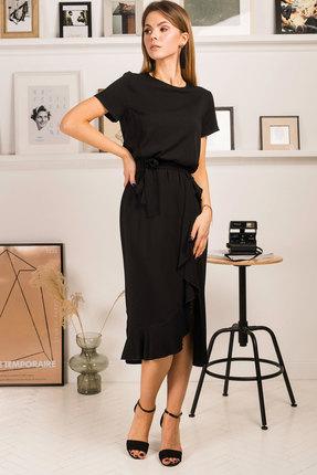 Платье Mirolia 753 черный