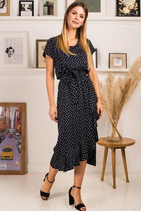 Платье Mirolia 753 синий фото