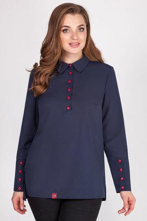 Рубашка AVLINE 1776 синий фото