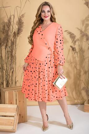 Платье Лилиана 815 коралловый