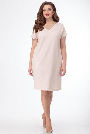 Платье Anelli 473 пудра