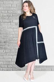 Платье Needle Ревертекс 420/1 черный
