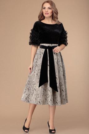 Комплект юбочный Svetlana Style 1369 черный с серым фото