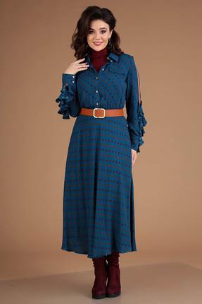 Платье Мода-Юрс 2546 морская волна