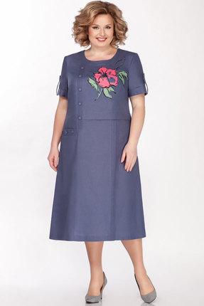 Платье Теллура-Л 1490 джинс фото