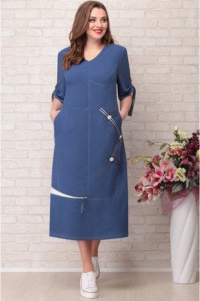 Платье Aira Style 740 синий