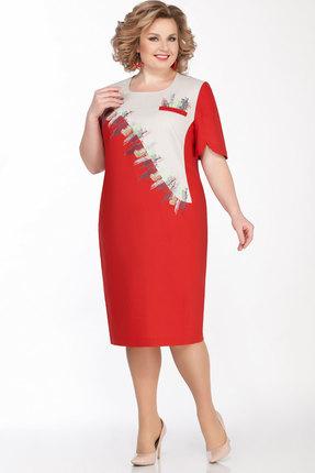 Платье LaKona 1292 терракотовый