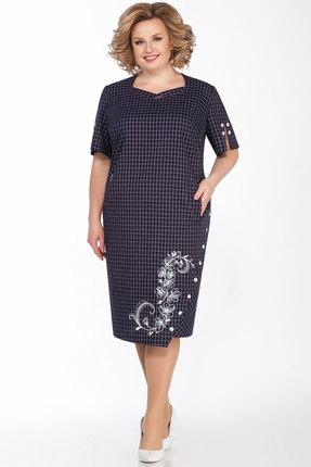 Платье LaKona 1228 чернильный