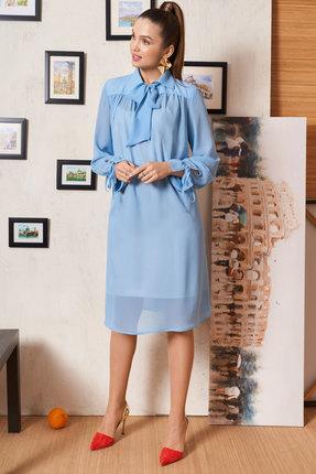 Платье ЛЮШе 2312 голубой