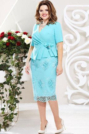 Комплект юбочный Mira Fashion 4580 мята фото