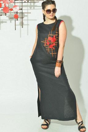 Платье MALI 420-051 черный