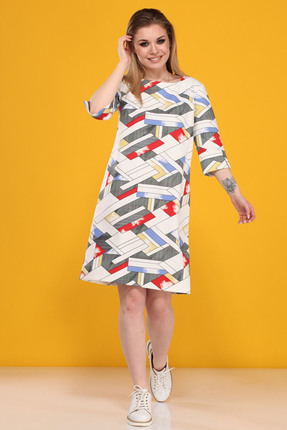 Платье B&F 2079 мультиколор