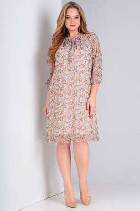 Платье Ollsy 1522 бежевый