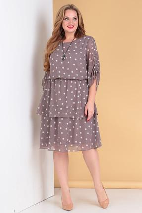 Платье Moda-Versal 2178 серые тона фото