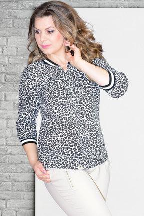 Блузка Needle Ревертекс 315/5 леопард фото