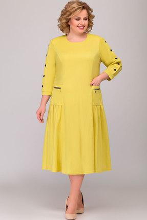 Платье Асолия 2464 жёлтый фото