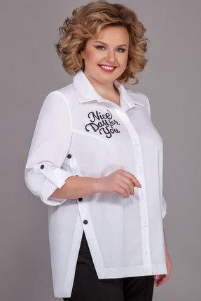 Блузка Теллура-Л 1495 белый фото