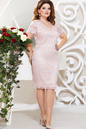 Платье Mira Fashion 4802-2 пудра