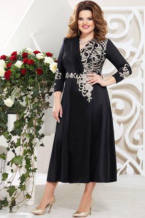 Платье Mira Fashion 4771 чёрный