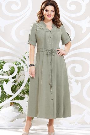 Платье Mira Fashion 4615 хаки
