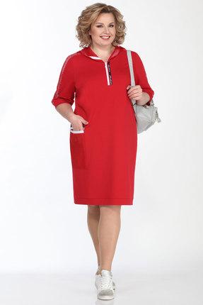 Спортивное платье Lady Secret 3645 красный