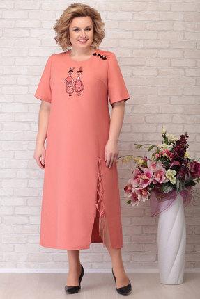 Платье Aira Style 753 персик