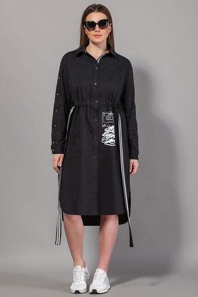 Платье Сч@стье 7061 черный фото