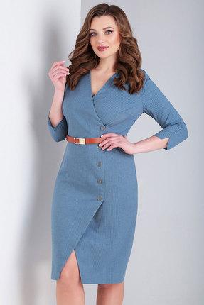 Платье Милора-Стиль 769 голубой