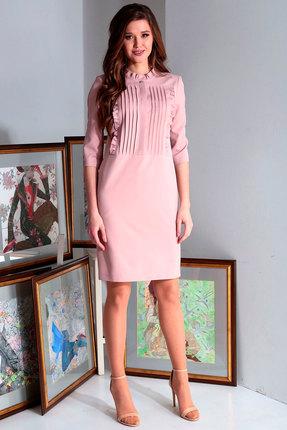 Платье Axxa 55144 розовый