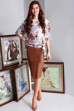 Комплект юбочный Axxa 26137 мультиколор фото