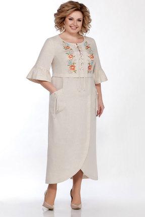 Платье LaKona 1285 песочный фото