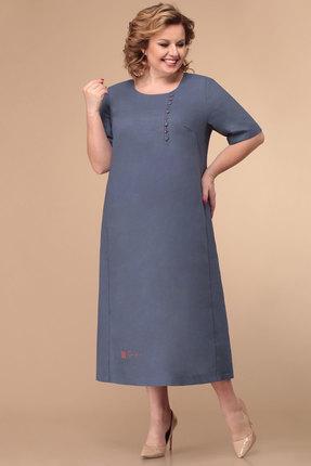 Платье Линия-Л Б-1788 темный джинс