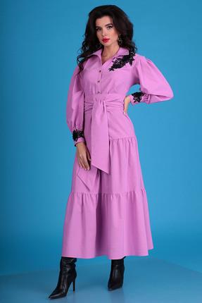 Платье Мода-Юрс 2545 лиловый