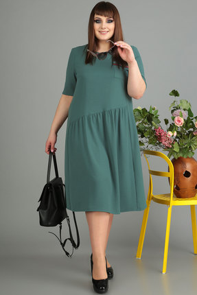 Платье Algranda 3462-2 олива