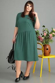Платье Algranda 3462-4 зеленый