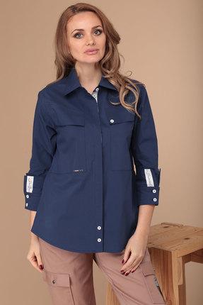 Рубашка Danaida 1830 синий фото
